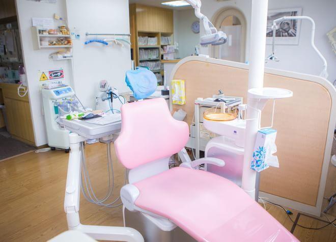 瀬田駅(滋賀県) 南口徒歩 20分 かながわ歯科医院の治療台写真3