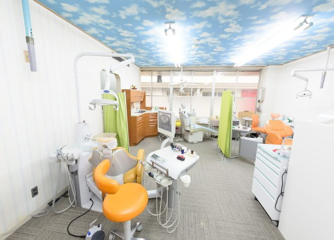 立町駅 出口徒歩 3分 吉田歯科の治療台写真2