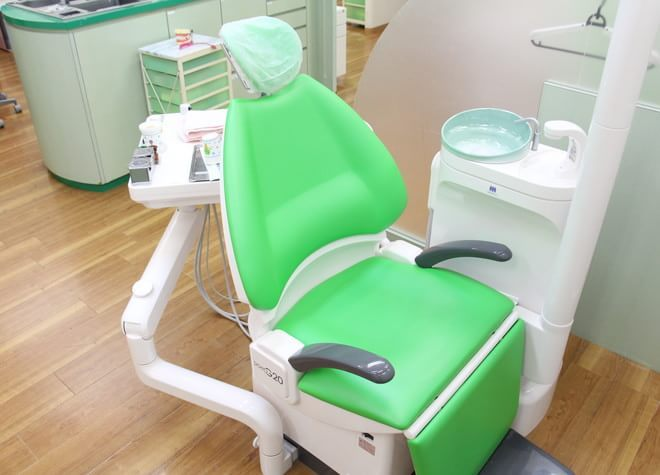 柚須駅 出口車 5分 グリーン歯科クリニックの治療台写真6