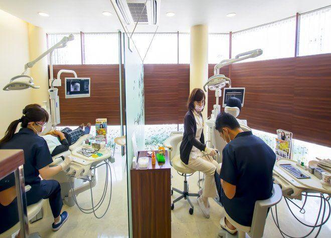 仁川駅 東口徒歩 3分 藤田歯科の治療台写真4