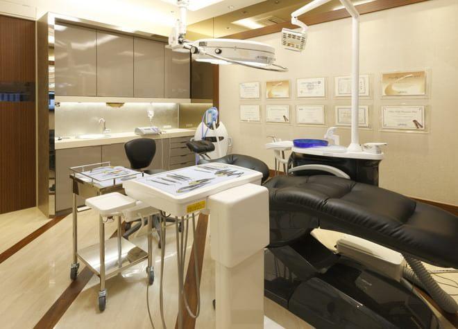 八尾駅 北口徒歩5分 ノエル貴島歯科の治療台写真1