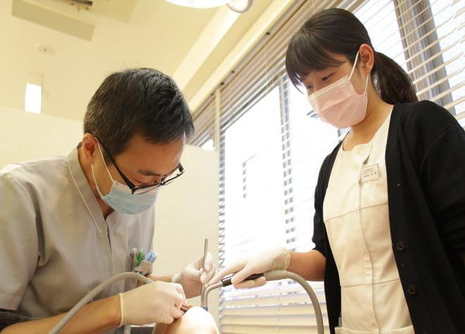 市ヶ谷駅 徒歩4分 市ヶ谷防衛省前歯科クリニックのスタッフ写真4