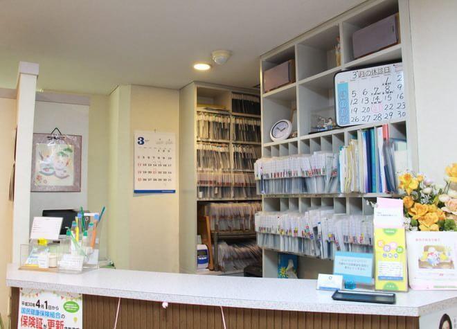 東中野駅 A2、A3出口徒歩2分 ふじまき歯科の院内写真1