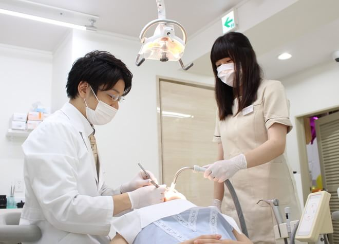 大須観音駅 2番出口徒歩 3分 大須観音南歯科のスタッフ写真2