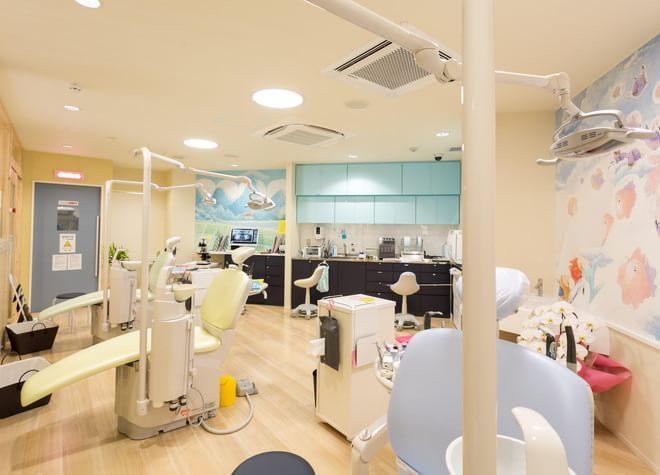 都島駅 出口車 6分 ワハハキッズデンタルみやけ歯科の治療台写真2