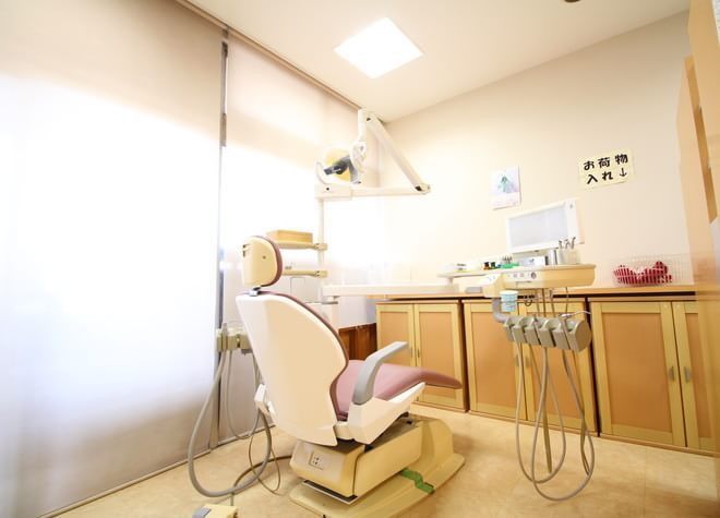 庄内通駅 出口徒歩10分 ゆうこ歯科の治療台写真5