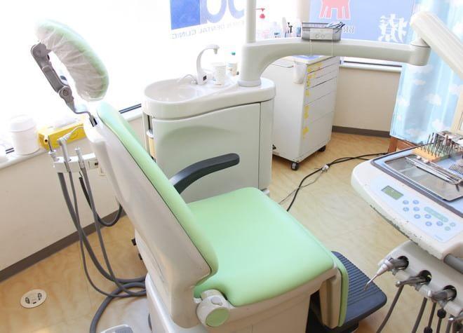 元住吉駅 西口徒歩 3分 ブレーメンホワイト歯科の治療台写真6