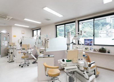 徳力嵐山口駅 出入口3徒歩 3分 イチロー・歯科の院内写真3