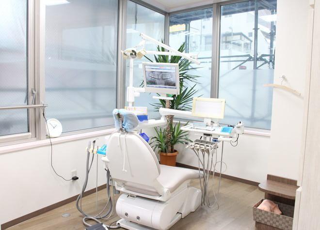 松戸駅 出口徒歩 3分 松戸ボックスヒル歯科の治療台写真2