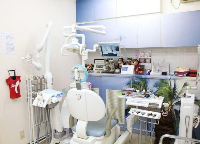 門前仲町駅 6番出口徒歩 3分 飯塚歯科医院の治療台写真3