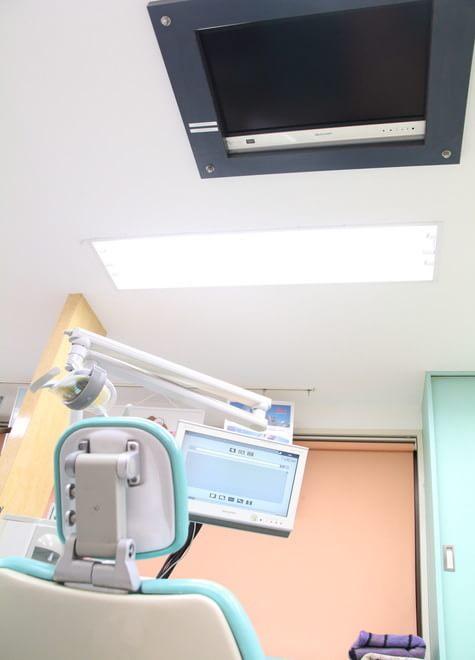 千歳鳥山駅 徒歩5分 医療法人社団 朋純会 くりた歯科医院ちゃいるどデンタルクリニックの治療台写真6