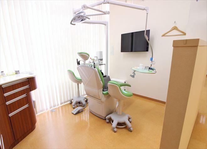 静岡駅 南口徒歩1分 オリエント歯科医院の治療台写真6