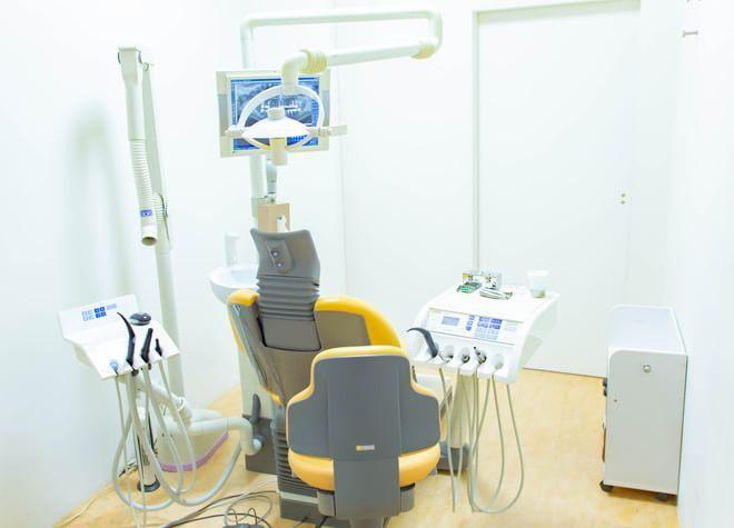 江坂駅 1号出口徒歩 3分 かわらもと歯科の治療台写真2