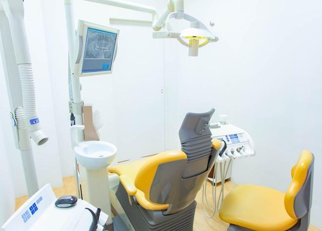 江坂駅 1号出口徒歩 3分 かわらもと歯科の治療台写真3