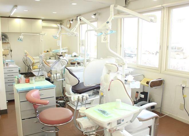 真駒内駅 出口車 8分 伊藤仁歯科の治療台写真7
