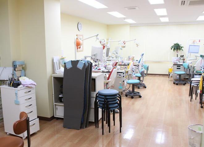 大森駅(東京都) 北口徒歩7分 アリスバンビーニ小児歯科大森診療所の治療台写真2