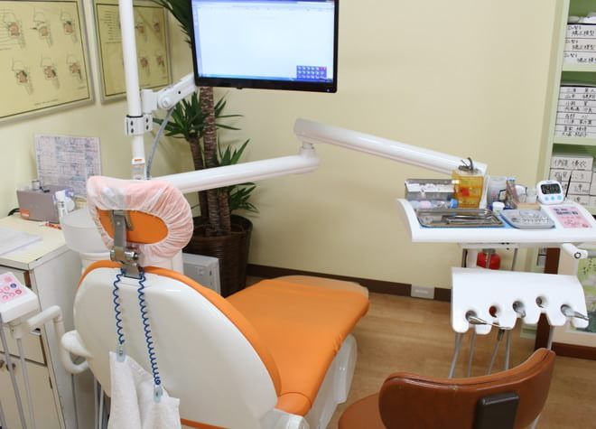 大森駅(東京都) 北口徒歩7分 アリスバンビーニ小児歯科大森診療所の治療台写真3