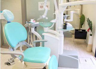 こころデンタルクリニックの診療室