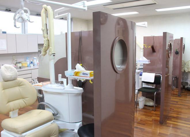 三鷹駅南口 徒歩10~12分 松崎歯科医院の松崎歯科医院の診療スペース写真3