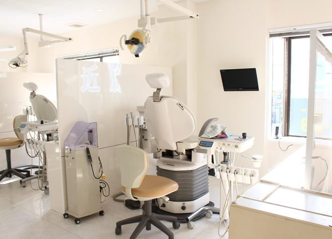 向ヶ丘遊園駅  南口 徒歩1分 近藤歯科の治療台写真5