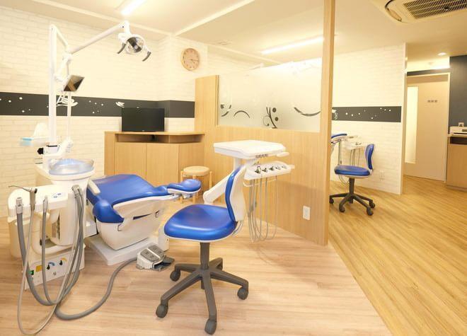 上石神井駅 北口徒歩3分 つばさデンタルオフィスのつばさデンタルオフィスの診療スペース写真5