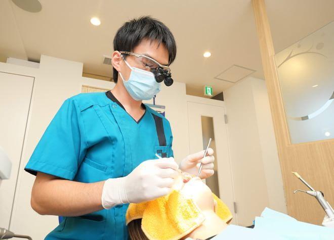上石神井駅 北口徒歩 3分 つばさデンタルオフィスのつばさデンタルオフィスの診療風景写真4
