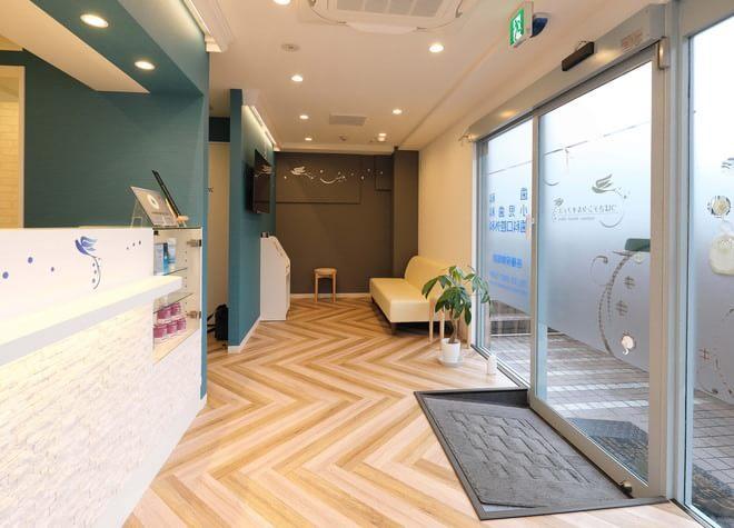 上石神井駅 北口徒歩 3分 つばさデンタルオフィスのつばさデンタルオフィスの受付の様子写真3