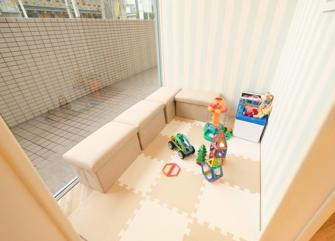 上石神井駅 北口徒歩3分 つばさデンタルオフィスのつばさデンタルオフィスののキッズスペース写真3