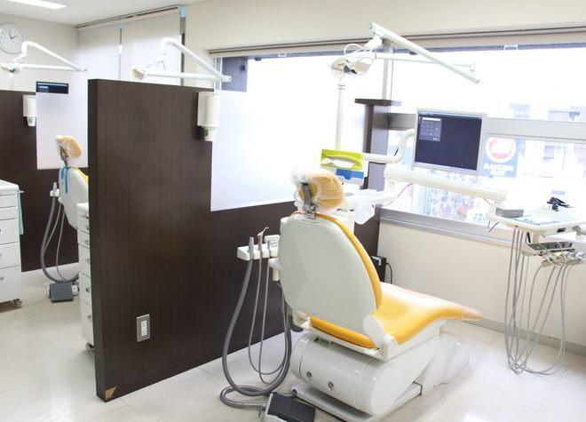 蒲田駅 出口徒歩 1分 クリーン歯科の治療台写真3