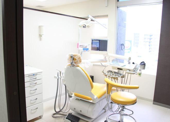 蒲田駅 出口徒歩 1分 クリーン歯科の治療台写真4
