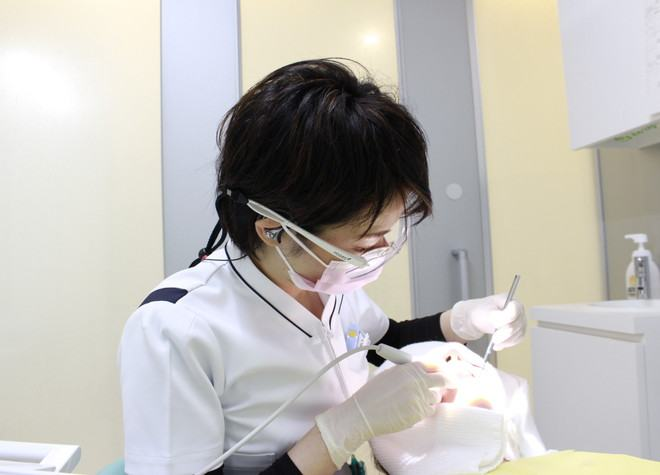 元町駅(兵庫県) 出口徒歩 5分 神戸元町にん歯科クリニックの神戸元町にん歯科クリニックの女性スタッフ写真4
