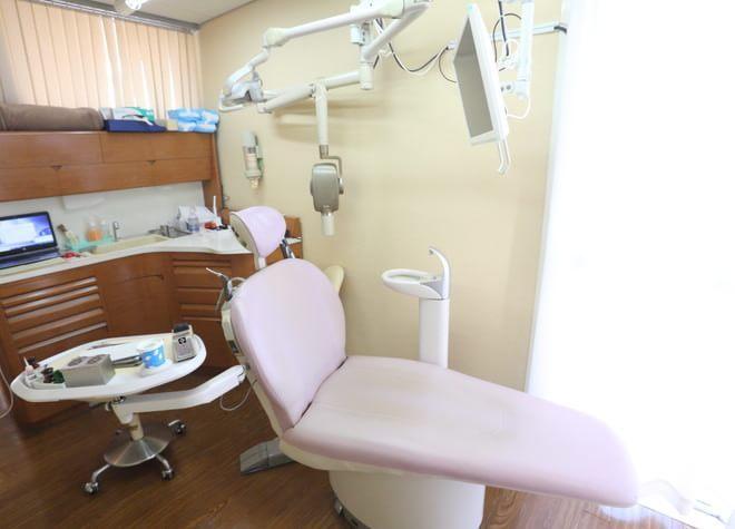 西千葉駅 北口徒歩5分 アイボリー歯科医院の治療台写真7