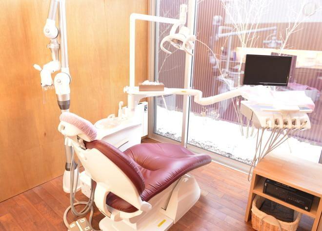 福島駅東口 バス13分 レオ歯科医院の治療台写真3