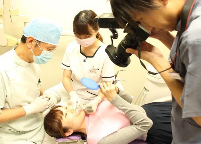 チーム医療制を採用した精密・丁寧な治療